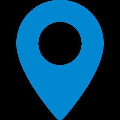 Blue Map Pin
